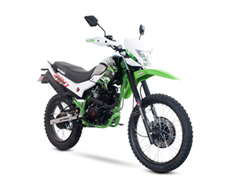 Carabela Route 200cc,  Color Verde