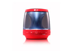 Bocina Portatil LG PH1R Bluetooth Roja