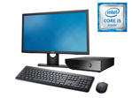 Desktop Dell Alpha Ci5 8GB/1T W10 23""