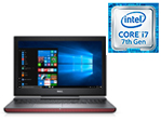 Laptop Dell I7567 C i7-7700HQ 8GB/128GB SSD+1TB 15.6""
