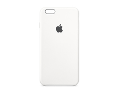Case de Iphone 6s Plus Blanco Silicón