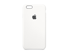 Case de iPhone 6s Blanco Silicón