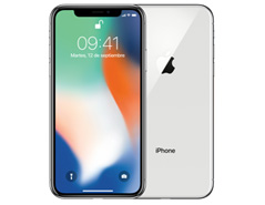 Apple iPhone X Color Plata 256GB